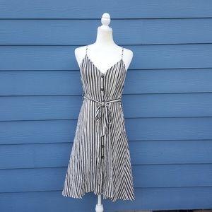 NWOT Timeless Button Down Striped Summer DressMich